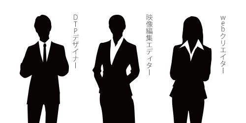 DTPデザイナー・映像編集エディター・Webクリエイター