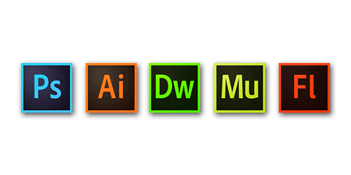 Creative CloudのWebで使用する製品