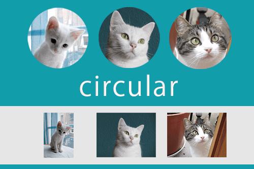 画像を円形に切り抜く方法