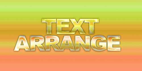 フォトショップで文字(フォント)をかっこよくする作例 テキストレイヤーにスタイルや効果を適用する加工