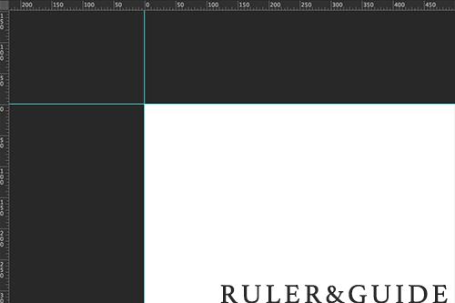 定規とガイド ruler&guide