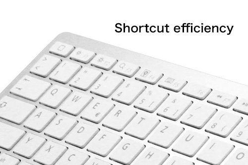 キーボード効率化